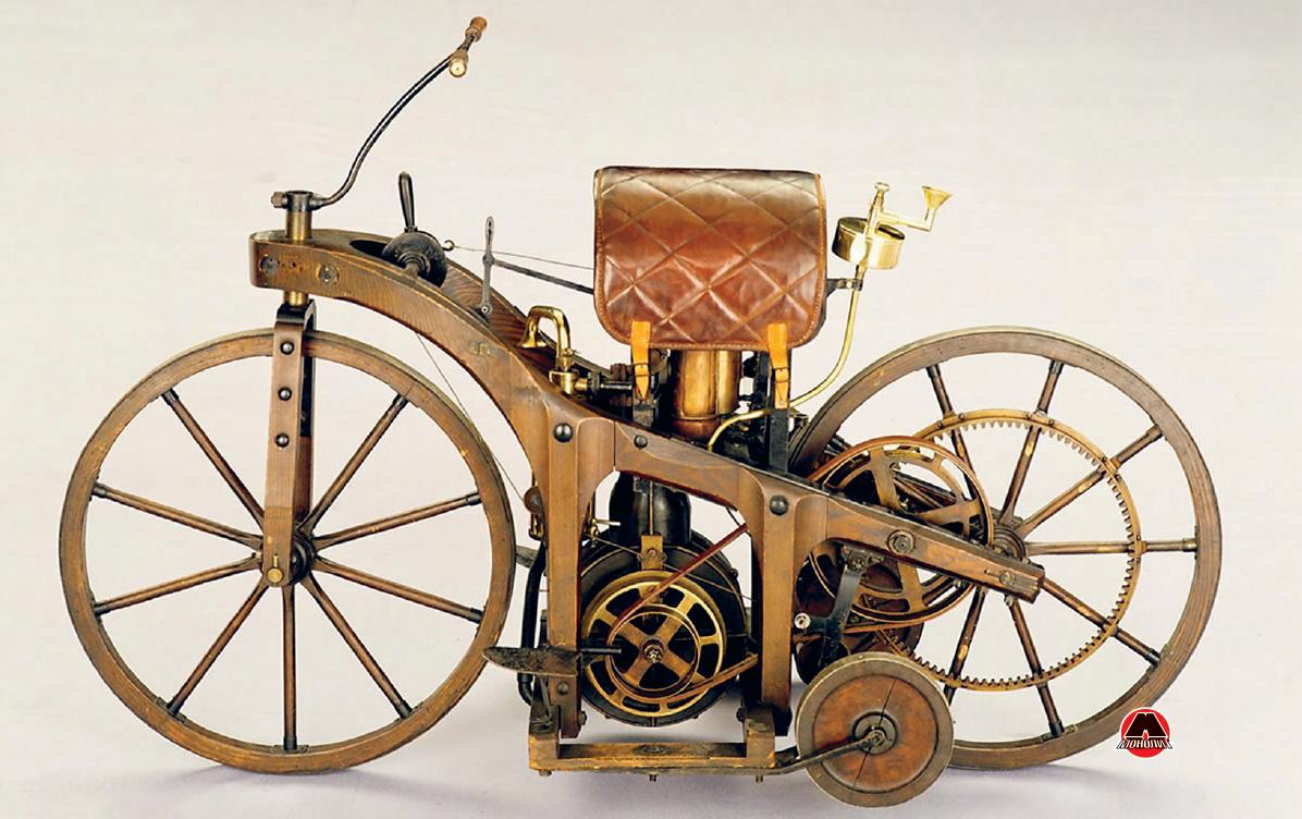 Двоколісний візок (мотоцикл) Готліба Даймлера