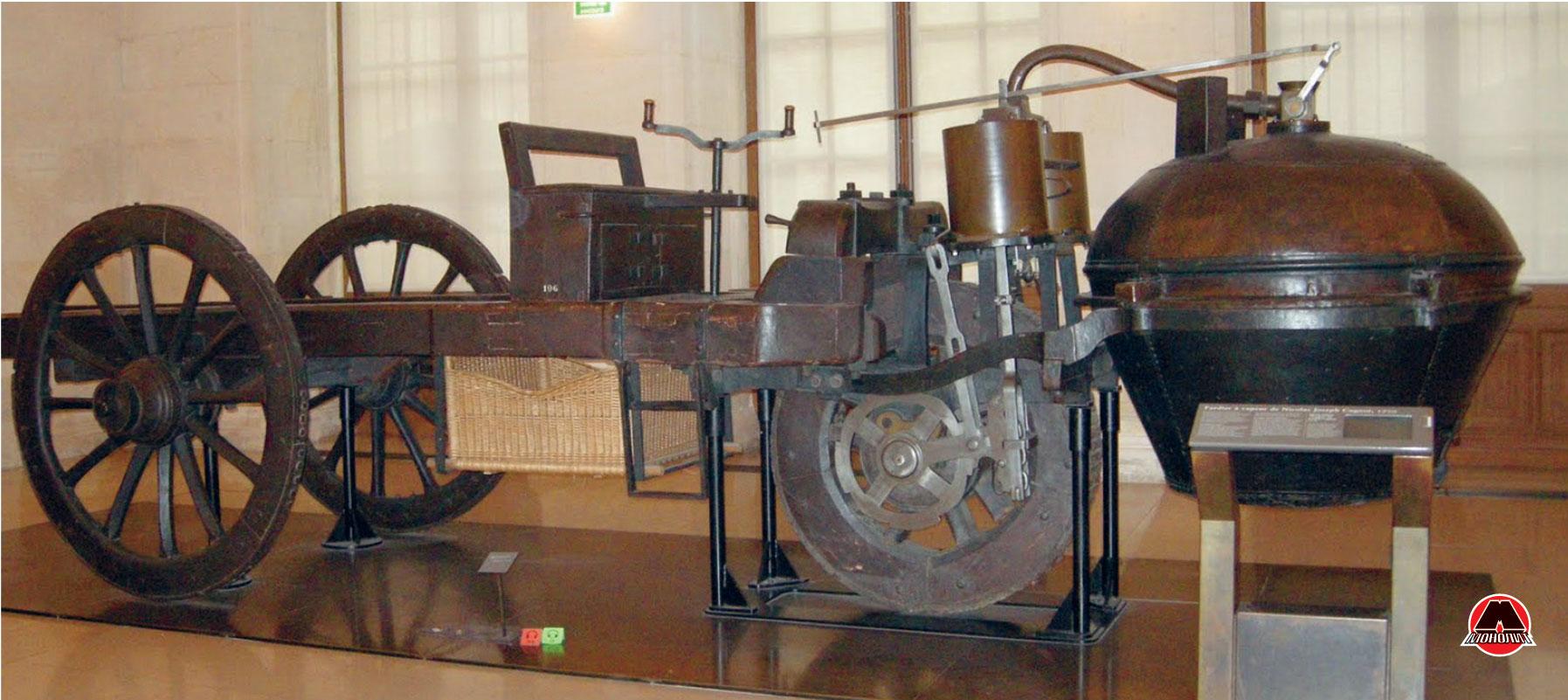 Саморушний візок винахідника Кюньо