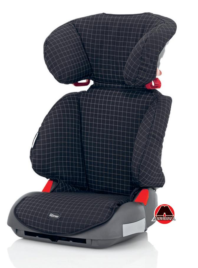 Приклад спеціального крісла для перевезення дітей