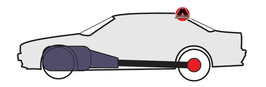 Класична компонувальна схема автомобіля