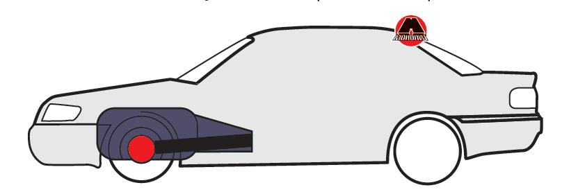 Подовжнє розташування двигуна з приводом на передні колеса