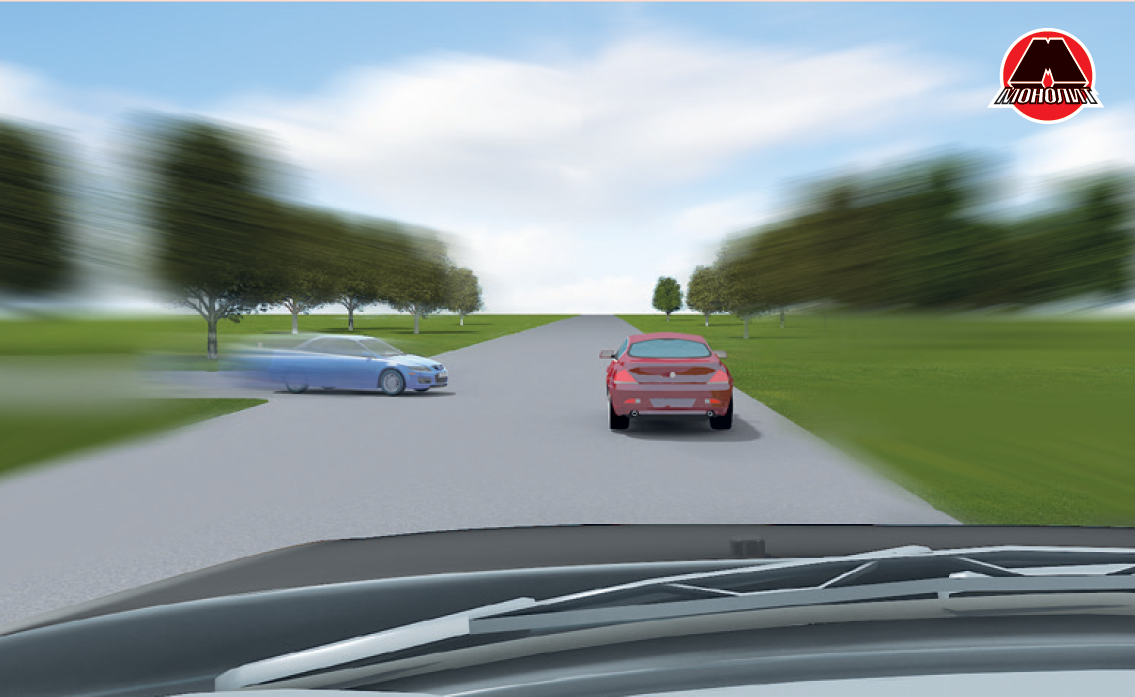 Опасное сближение автомобилей
