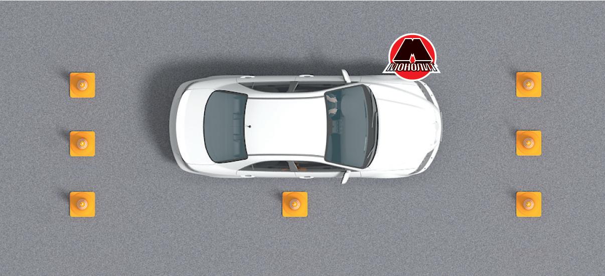 Обучение паркованию задним ходом